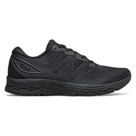 New Balance 880v9 2E Mens Running Shoes, Black, rebel_hi-res