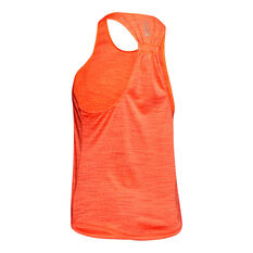 Under Armour Womens Streaker 2.0 Time Lapse Tank Grey XS, , rebel_hi-res