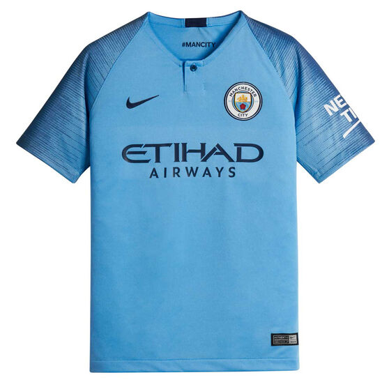 Manchester City FC 2018 / 19 Kids Replica Jersey, , rebel_hi-res