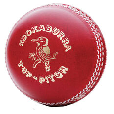Kookaburra Tuff Pitch 142g Cricket Ball, , rebel_hi-res