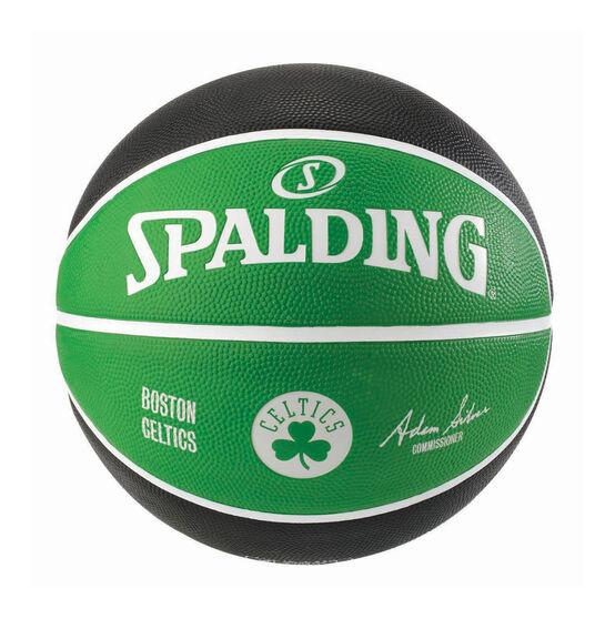 Spalding NBA Team Series Boston Celtics Basketball Green / Black 6, Green / Black, rebel_hi-res
