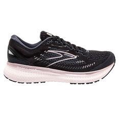 Brooks Glycerin 19 Womens Running Shoes Black/Silver US 6, Black/Silver, rebel_hi-res