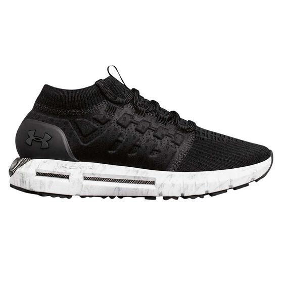 Under Armour HOVR Phantom Mens Running Shoes Black / White US 11, Black / White, rebel_hi-res