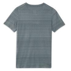 Nike Boys Dri-FIT Miler Tee Grey XS, Grey, rebel_hi-res