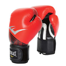 Everlast Pro Style Advanced Training Boxing Gloves Red / Black 12oz, Red / Black, rebel_hi-res