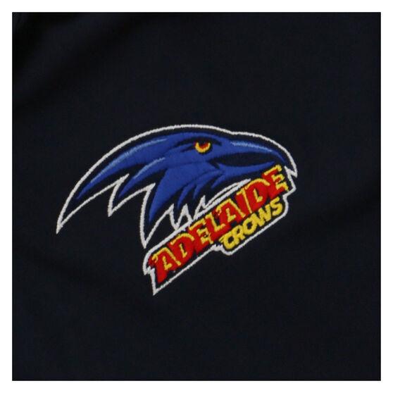 Adelaide Crows 2021 Mens Media Polo, Blue, rebel_hi-res