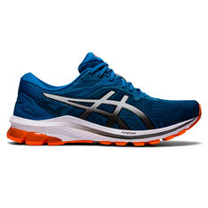 Asics GT 1000 10 2E Mens Running Shoes Blue/Black US 7, Blue/Black, rebel_hi-res