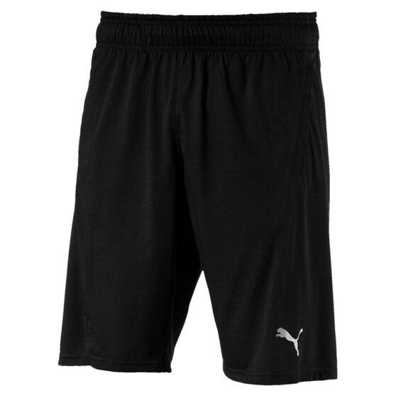 Puma Mens A.C.E. 10in drirelease Training Shorts Black S, Black, rebel_hi-res