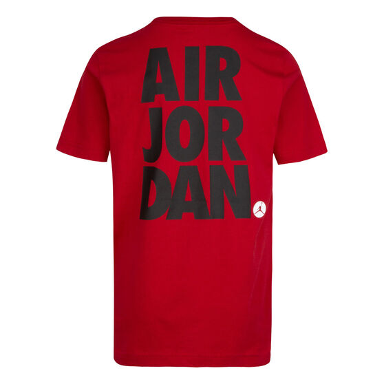 Nike Boys SS Graphic Tee, Red, rebel_hi-res