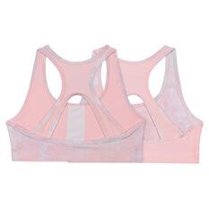 Nike Girls Swoosh Reversible Sports Bra, Pink, rebel_hi-res