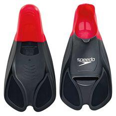 Speedo BioFUSE Training Fins Red / Black US 13 - 14, Red / Black, rebel_hi-res