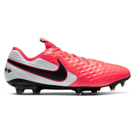 Nike Tiempo Legend VIII Elite Football Boots, Black / Red, rebel_hi-res
