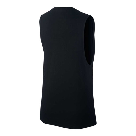 Nike Womens Sportswear Futura Muscle Tank, Black, rebel_hi-res