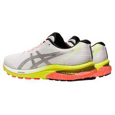 Asics GEL Cumulus 22 Lite Show Mens Running Shoes, White/Silver, rebel_hi-res
