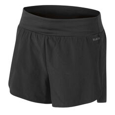 Ell & Voo Womens Ellie 2 in 1 Shorts Black 8, Black, rebel_hi-res