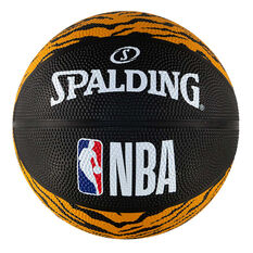 Spalding Animal Tiger Print Mini Basketball, , rebel_hi-res