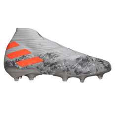 adidas Nemeziz 19+ Football Boots Grey / Orange, Grey / Orange, rebel_hi-res