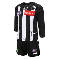 Collingwood Magpies 2020 Infants Home Guernsey Black / White 1, Black / White, rebel_hi-res