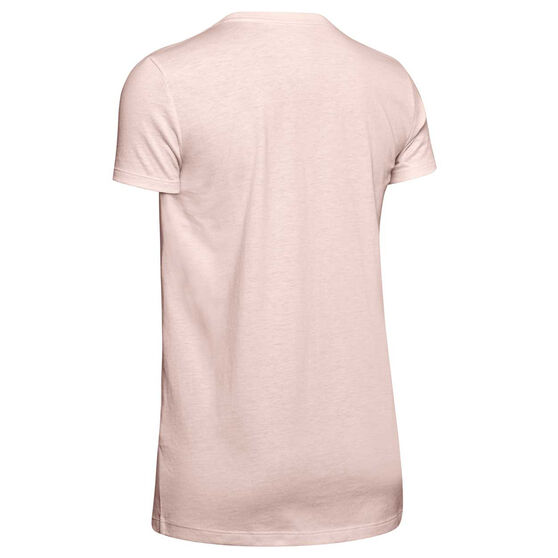 Under Armour Womens Graphic Sportstyle Classic Tee, Pink, rebel_hi-res
