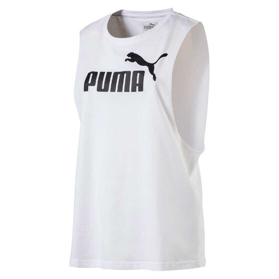 Puma Womens Cut Off Boyfriend Tank by Puma