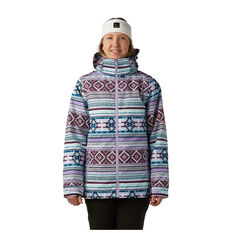 Rojo Womens Cruiser Ski Jacket Print XS, Print, rebel_hi-res