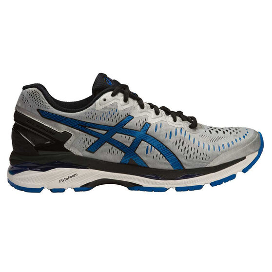 100f4aaa Asics Gel Kayano 23 Mens Running Shoes Grey / Blue US 8.5 | Rebel Sport