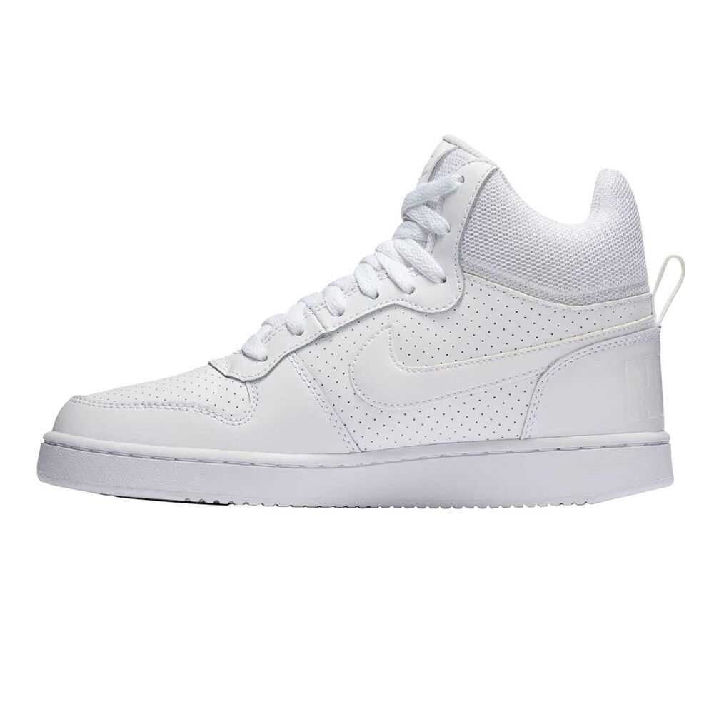 8a7eac0f6b199b Nike Court Borough Mid Womens Casual Shoes White US 6