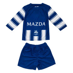 North Melbourne Kangaroos 2020 Infants Home Kit Blue/White 0, Blue/White, rebel_hi-res
