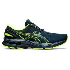 Asics GEL Kayano 27 Lite Show Mens Running Shoes Blue/Silver US 7, Blue/Silver, rebel_hi-res