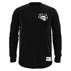 Under Armour Project Rock Mens Get To Work Top, Black, rebel_hi-res