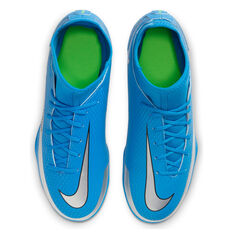 Nike Phantom GT Club DF Kids Football Boots, Blue, rebel_hi-res