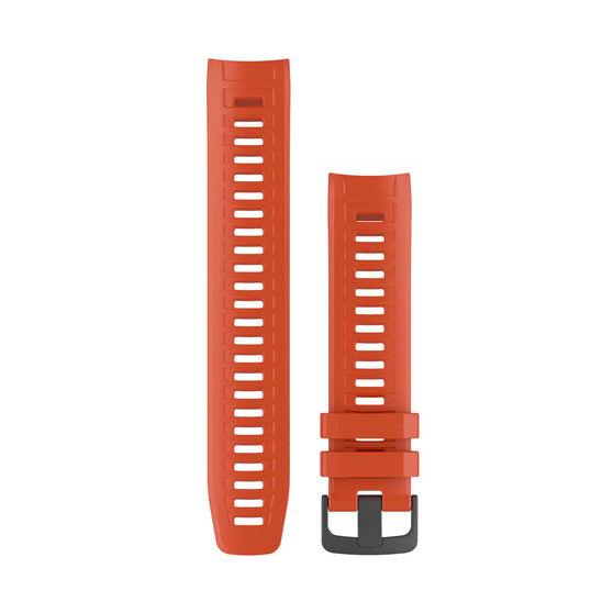 Garmin Flame Red Adjustable Watch Band, , rebel_hi-res