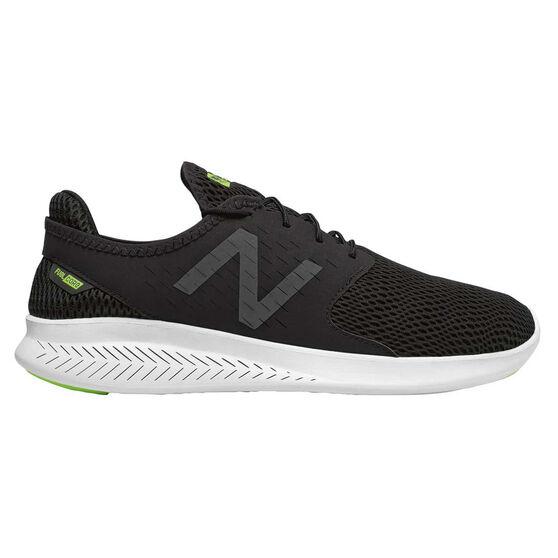 New Balance FuelCore Coast v3 Mens Casual Shoes Black / White Size US 7, Black / White, rebel_hi-res