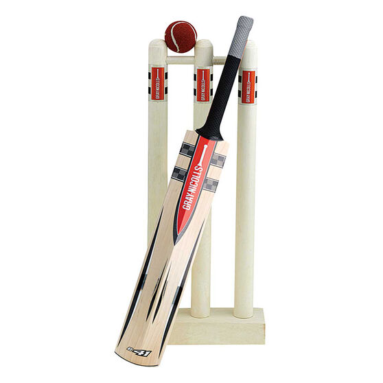 Gray Nicolls Mini Cricket Bat, Stumps & Ball Set, , rebel_hi-res
