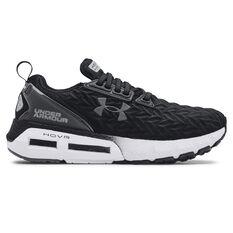 Under Armour HOVR Mega Clone 2 Womens Running Shoes Black/White US 6, Black/White, rebel_hi-res