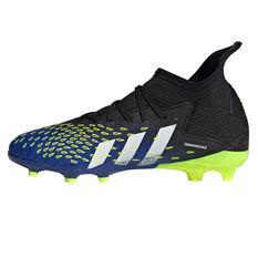 adidas Predator Freak .3 Kids Football Boots Black US 11, Black, rebel_hi-res