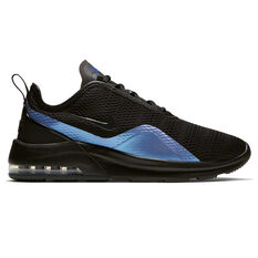 Nike Air Max Motion 2 Mens Casual Shoes Black / Blue US 7, Black / Blue, rebel_hi-res
