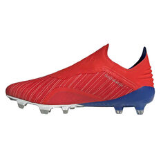 adidas X 18+ Mens Football Boots Red / Silver US Mens 7 / Womens 8, Red / Silver, rebel_hi-res