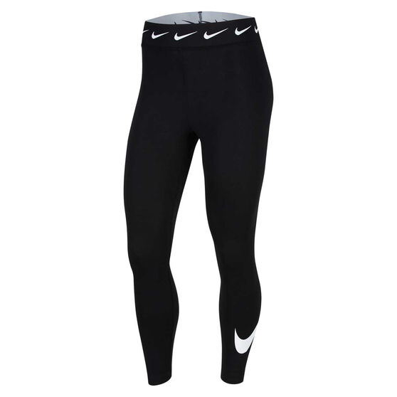 Nike Womens Sportswear Club High-Waisted Leggings, Black, rebel_hi-res