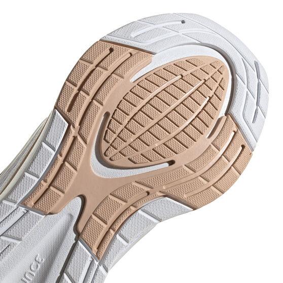 adidas EQ21 Womens Running Shoes, White/Black, rebel_hi-res