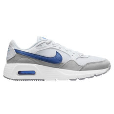 Nike Air Max SC Kids Casual Shoes White/Blue US 4, White/Blue, rebel_hi-res
