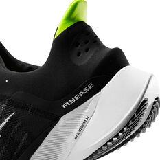 Nike Air Zoom Tempo Next% FlyEase Womens Running Shoes Black/White US 7, Black/White, rebel_hi-res