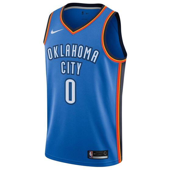 new style 9e08c 926a3 Nike Oklahoma City Thunder Russell Westbrook 2019 Mens Swingman Jersey