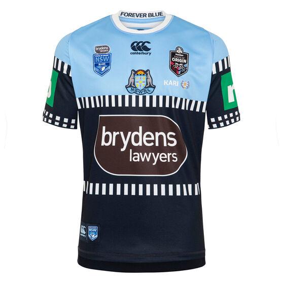 NSW Blues State of Origin 2020 Mens Alternate Jersey, Blue, rebel_hi-res
