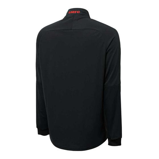 Sydney Swans 2021 Mens Track Jacket, Black, rebel_hi-res