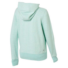 Ell & Voo Womens Harper Fleece Full Zip Hoodie Blue S, Blue, rebel_hi-res