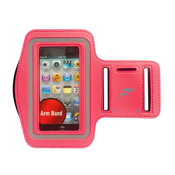 Fly Active iPhone 4 Running Audio Armband Pink OSFA, Pink, rebel_hi-res