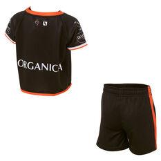 Wests Tigers 2021 Infants Home Kit Black 1, Black, rebel_hi-res