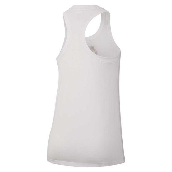 Nike Womens Sportswear Tank, White, rebel_hi-res