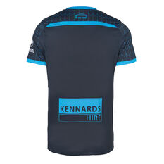 Sydney FC 2019/20 Mens Third Jersey Navy S, Navy, rebel_hi-res